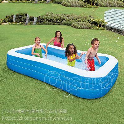 厂家直销超大家庭游泳池 碟形泳池 儿童加厚充气泳池成人 戏水池