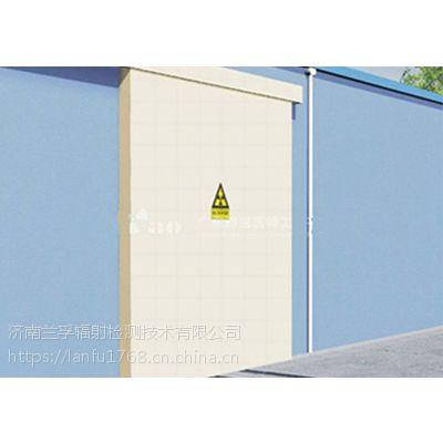 探伤室电动防辐射铅门的组成结构_www.lanfufanghu.com
