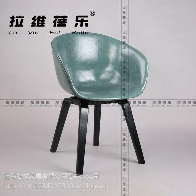 星巴克时尚围椅咖啡厅实木圈椅定做