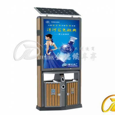 天津定制背靠背广告垃圾箱生产厂家