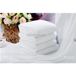酒店纯白毛巾定制厂家