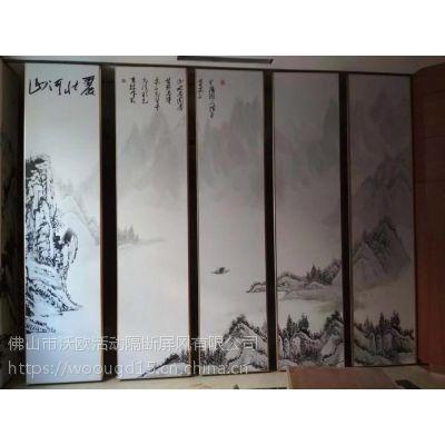 漳州供应饭店移动隔断屏风隔音墙