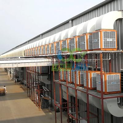 柳州冷风机新一代高效环保加厚四面湿帘