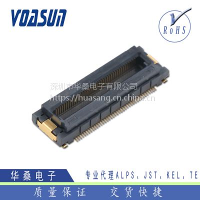 LED租赁显示屏用KEL浮动连接器_DY10-060S/KEL小间距板对板连接器