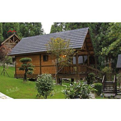 供应厂家直销现代特色丛林木别墅