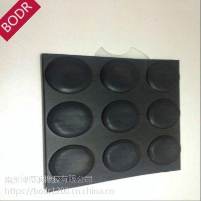 厂家专业定制 防滑橡胶板 圆点橡胶板 黑色彩色船舶防滑垫 丁苯橡胶
