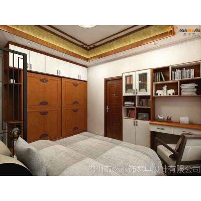 新中式风格卧室衣柜