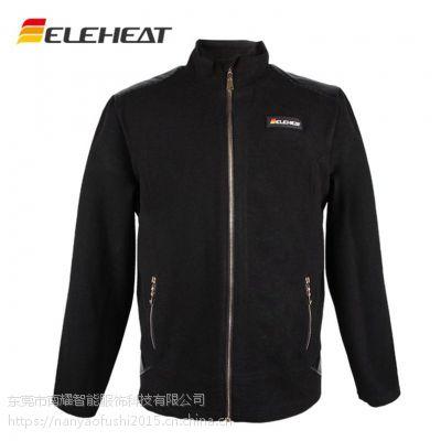 男式夹克修身发热服立领ELEHEAT中年修身电热服L/M