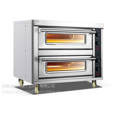 ***新上海厂家批发两层两盘烘培烤箱价格