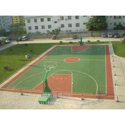 柳州可停车的硅PU球场,柳州硅PU球场,广西三杰体育为您服务