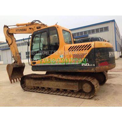 二手现代150挖掘机转让,桂林二手挖掘机市场
