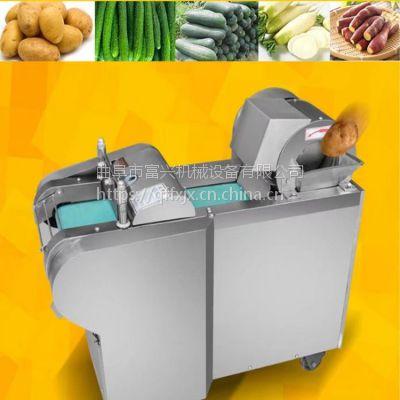 胡萝卜切片机 富兴桑叶切丝机 不锈钢型蒲公英切段机多少钱
