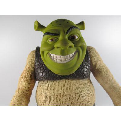 厂家定制玩具 怪物史瑞克搪胶公仔人偶模型手办居家摆件