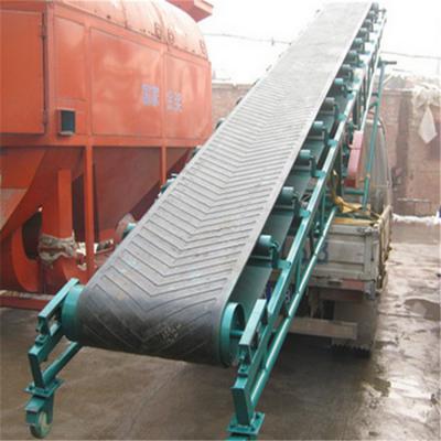 工地大型皮带输送机 兴亚人字形防滑输送机款式