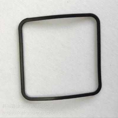 【科裕富橡塑】矩形密封圈 丁基橡胶IIR 抗撕裂 模压橡胶件 各种非标准尺寸规格