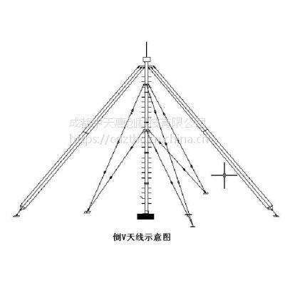 TN222 倒V短波宽带收发信天线(2MHz~30MHz)