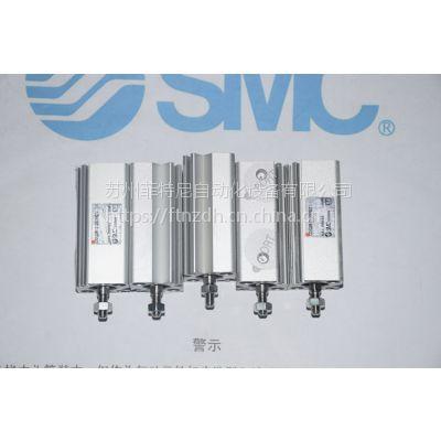SMC 薄型气缸:标准型/单杆双作用CDQ2B12-30DMZ 杆端外螺纹