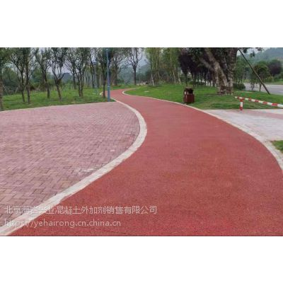 透水混凝土/透水地坪胶结剂北京专业品牌