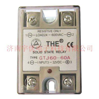 THE天豪单相交流固态继电器 GTJ60-60A 60A
