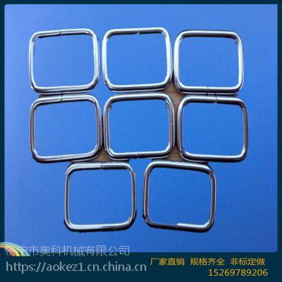 方形铁圈 焊接铁圈 镀锌铁环 优质矩形金属圈