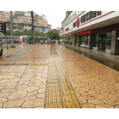 水泥压花地坪-装饰艺术压花地坪