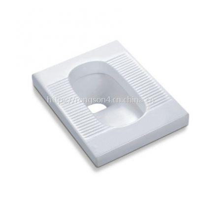 冲力超强卫生间陶瓷蹲便器白色蹲款大便器