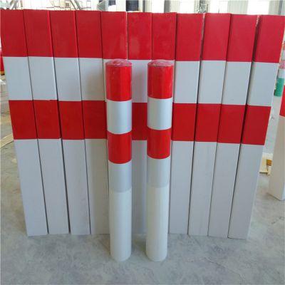 河北枣强玻璃钢反光红白警示桩经销商现货直销