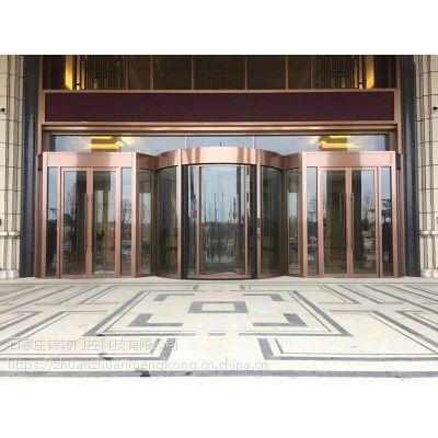 石家庄旋转门定制 厂家直销 免费设计安装转转门控