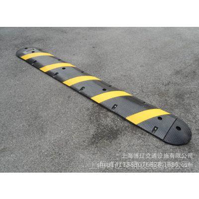 上海两槽线槽减速带小区路面线槽减速带橡胶线槽减速带安装