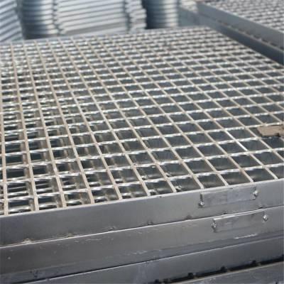踏步篦子板 电厂专用踏步板 格栅盖板厂家