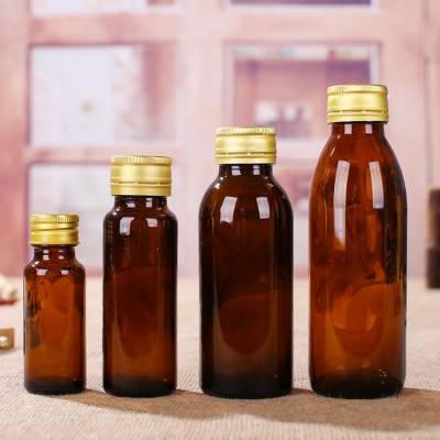 河北林都供应100毫升棕色玻璃药瓶