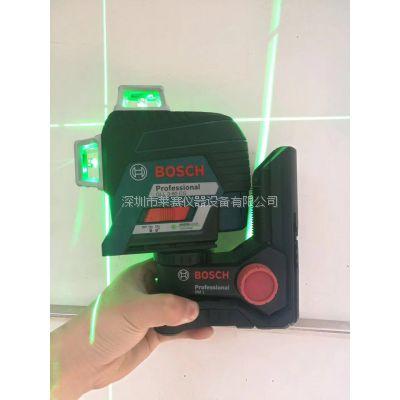 实体销售博世绿光贴墙仪GLL3-80GC博世12线蓝光可室内外使用