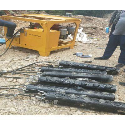 文昌市中心挖地基破石头劈裂机
