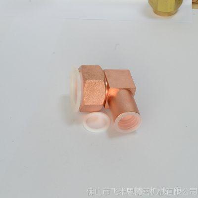 油管接头配件 现货2分螺纹快速铜螺母内外牙 优质油管接头配件