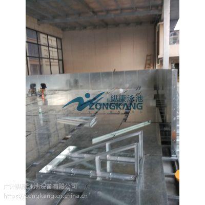 中山健身房钢结构游泳池水处理设备设计与安装方案-广州纵康