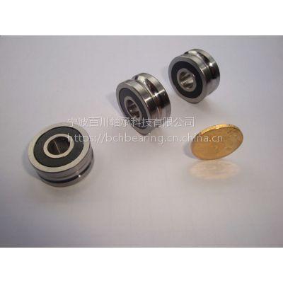 LFR50/8-6KDD 圆弧槽导轨滚轮轴承 百川轴承