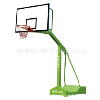 源头工厂 可定制 各种型号 篮球架子 配钢化玻璃 SMC篮板 移动式鹏之泰体育馨赢牌