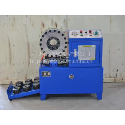 供应二手压管机,液压管高压压管机,油管压管机 河北压管机