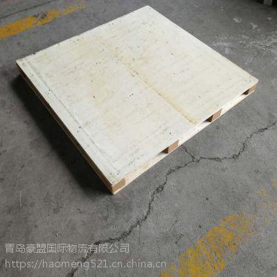 找木托盘加工厂家就找青岛豪盟木质包装电话网址