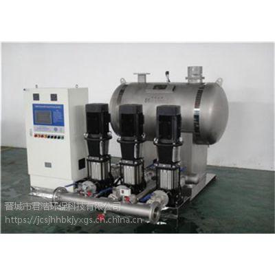定制无负压供水设备规格型号 供水公司厂家
