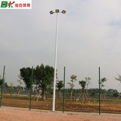 湖南乡村球场照明灯杆/室外8米篮球场灯柱批发安装