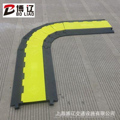 线槽减速板 过车耐压 橡胶线槽带