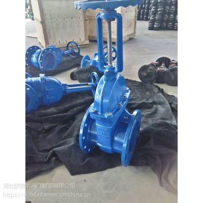 现货销售 铸铁 DN1100 Z41X法兰明杆闸阀 消防闸阀 高效 价格低廉