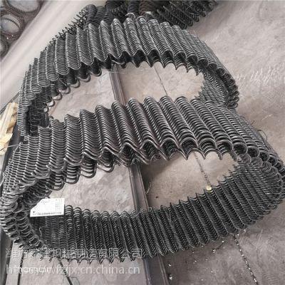 供应养猪绞龙料线,弹簧绞龙,无轴绞龙规格多种直径35-140mm