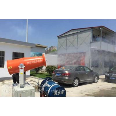 扬州采石场降尘喷雾机报价