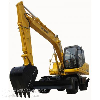 济南恒特轮式150-9挖掘机 恒特挖掘机配件 15吨轮挖价格配置