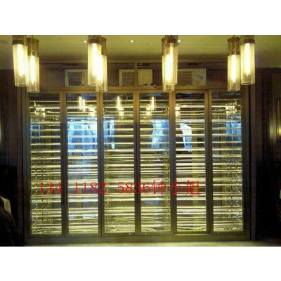 不锈钢恒温酒柜、酒店KTV不锈钢酒柜高端定制
