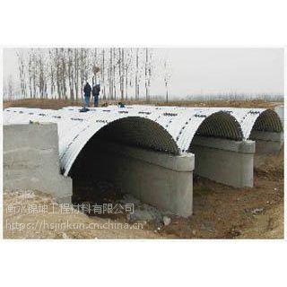 市政排污专用耐腐蚀波纹涵管---甘肃平凉金属波纹涵管生产厂家