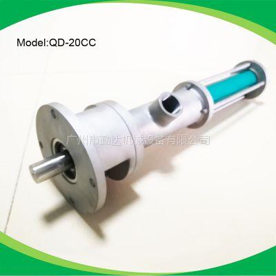 厂家直销LED灯点胶灌胶设备专用螺杆泵QD-20CC 输送泵