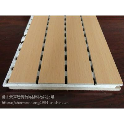 木质吸音板用途有哪些 报告厅防火吸音板规格